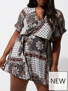 ri-plus-printed-wrap-tea-dress