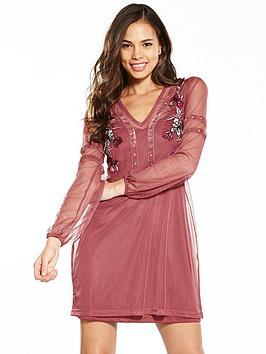river-island-river-embroidered-dress