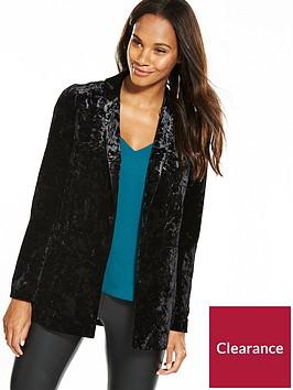 wallis-velvet-jacket-black