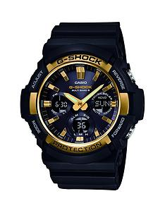 casio-g-shock-casio-g-shock-black-multi-dial-gold-bezel-resin-strap-mens-watch