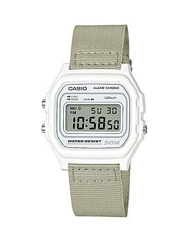 casio-casio-microlight-water-resistant-neutral-coloured-woven-strap-mens-watch