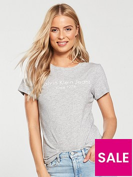 calvin-klein-jeans-tamar-branded-tee--nbsp-grey