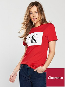 calvin-klein-jeans-tanya-40-t-shirt-red