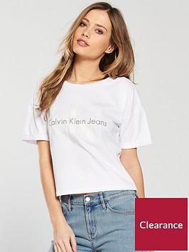 calvin-klein-jeans-short-sleeved-teco-slogan-t-shirt-white
