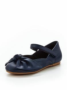 mini-v-by-very-ella-bow-ballerina-shoe