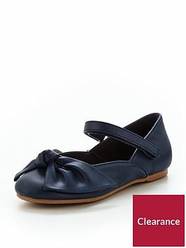 mini-v-by-very-ella-bow-ballerina-shoe