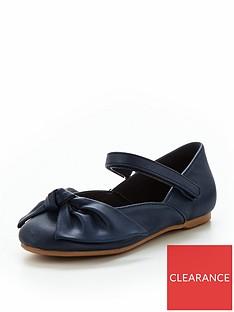 mini-v-by-very-girls-ella-bow-ballerina-shoes-navy