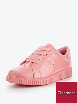 v-by-very-alice-chunky-sole-patent-sneaker-pink