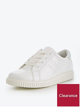 v-by-very-alice-chunky-sole-patent-sneaker-white