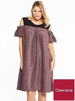 lost-ink-plus-lost-ink-plus-bardot-dress-in-sparkle-jersey