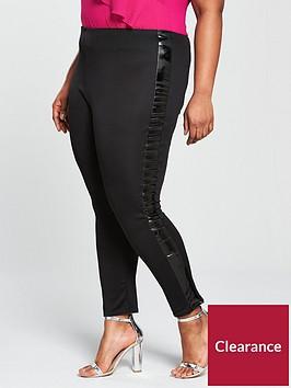 lost-ink-curve-curve-skinny-trouser-with-vinyl-seams-blacknbsp
