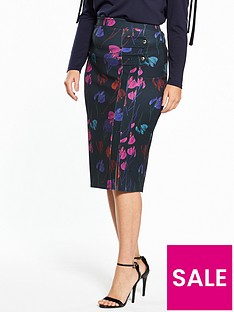 lost-ink-curve-lost-ink-curve-pencil-skirt-in-rainbow-orchid-print