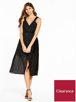 lost-ink-velvet-tie-belt-tinsel-dress-black