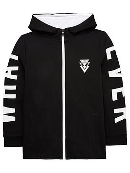 Photo of V by very zip thru sports hoodie