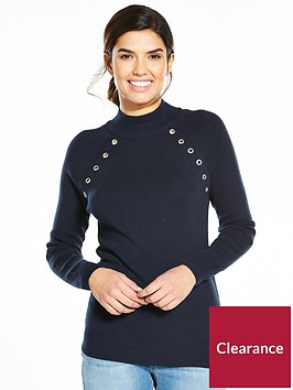 v-by-very-eyelet-detail-ribbed-jumper