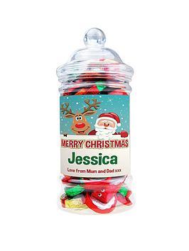 personalised-christmas-chocolate-jar