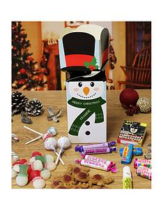 personalised-snowman-christmas-themed-sweet-box