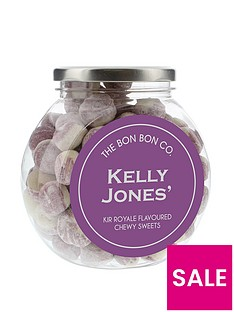 personalised-bon-bon-sweet-jars-kir-royale