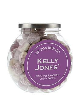 personalised-bon-bon-sweet-jars-kir-royale