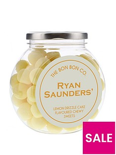 personalised-bon-bon-sweet-jars-lemon-drizzle-cake