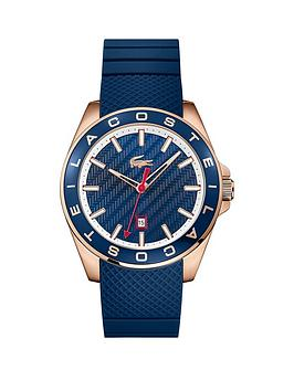 lacoste-lacoste-westport-blue-dial-rose-tone-case-blue-silicone-strap-mens-watch