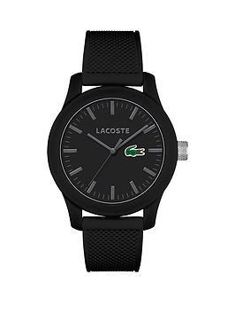 lacoste-lacoste-1212-black-dial-black-strap-mens-watch