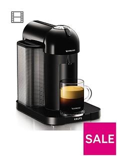 Nespresso XN901840Vertuo Coffee Machine by Krups- Black