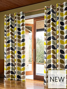 orla-kiely-multi-stem-lined-eyelet-curtains-ndash-duck-egg