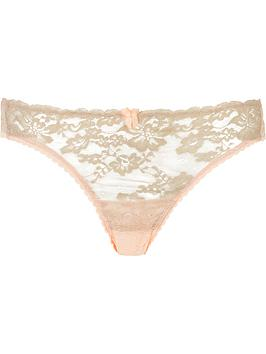 mimi-holliday-toffee-dazzler-mesh-back-knickers-peach