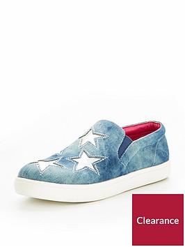 v-by-very-girls-layla-denim-star-plimsolls-blue