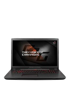 Image of Asus Rog Gl702Zc Amd Ryzen 5, 8Gb Ram, 1Tb Hard Drive &Amp; 256Gb Ssd, 17.3 Inch Full Hd Gaming Laptop With Amd Radeon Rx 580 Graphics - Black