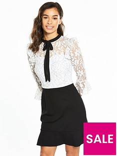 v-by-very-petite-lace-top-ponte-skirt-dress