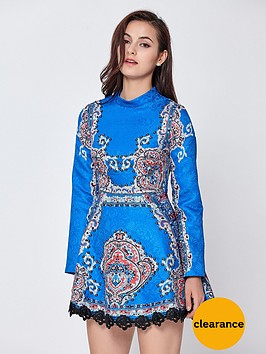 comino-couture-long-sleeve-skater-dress