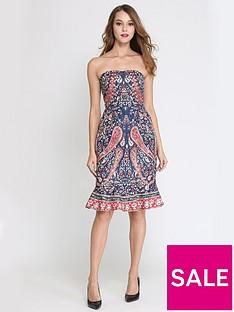 comino-couture-comino-couture-bandeau-paisley-midi-dress