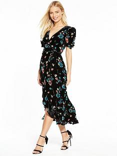 oasis-velvet-rosetti-midi-dress