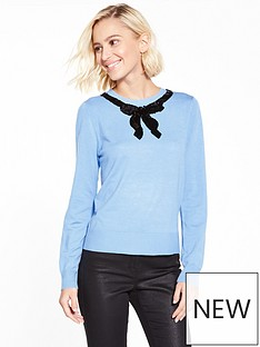 oasis-jackie-embellished-bow-knit-jumper