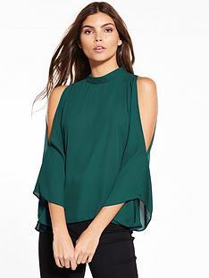 oasis-high-neck-cold-shoulder-top