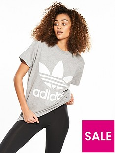 adidas-originals-adicolor-big-trefoil-tee-grey