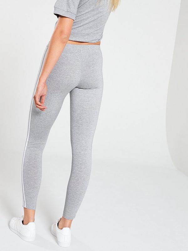adicolor 3 Stripe Tights Grey