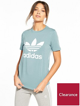adidas-originals-adicolor-trefoil-tee-grey