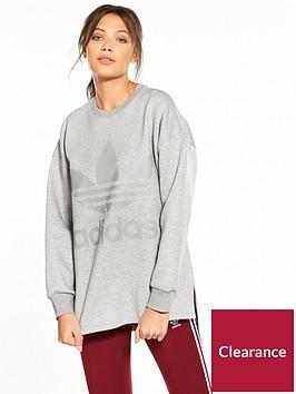 adidas-originals-sweatshirt-medium-grey-heathernbsp