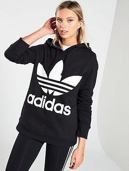 adidas-originals-adicolor-trefoil-hoodienbsp--black