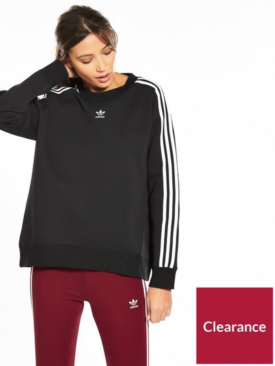 adicolor Crew Sweater - Black 71288459ad