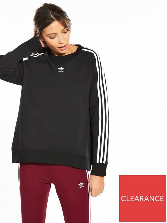 adidas Originals adicolor Crew Sweater - Black  8152937c48e3