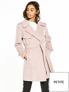 miss-selfridge-petite-pink-wrap-coat