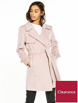 miss-selfridge-petite-pink-wrap-coat