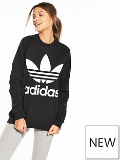 adidas-originals-adicolornbspoversized-sweater-black