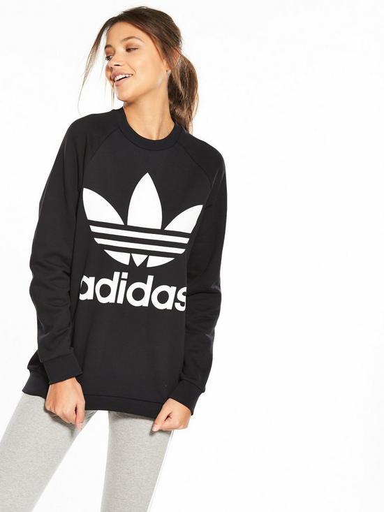 adicolor Oversized Sweater Black