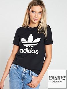 adidas-originals-adicolor-trefoil-tee-black