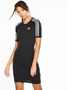 adidas-originals-adicolor-3-stripesnbsptee-dress